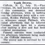 Freeman, Flay, July 20, 1925