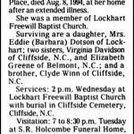 Greene, Helen Greene, Aug. 8, 1994