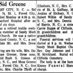 Greene, Sid, Nov. 12, 1962
