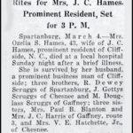 Hames, Ozelia S., Mar. 3, 1940