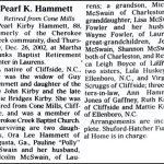 Hammett, Pearl Kirby, Dec. 26, 2002