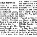 Hamrick, Broadus G., Nov. 9, 1974