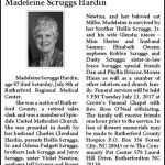 Hardin, Madeleine Scruggs, July 8, 2017