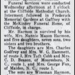 Harmon, G. Thomas, July 3, 1961