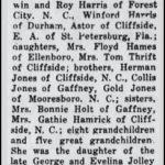 Harris, Bertha Jones, May 21, 1967