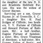 Haynes, Ina Fortune, Dec. 20, 1963