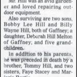 Hill, Bobby Dean, Mar. 14, 2006