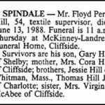 Hill, Floyd Perry, June 13, 1988