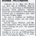 Hill, Woodrow, May 15, 1953