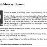 Houser, Frances McMurray, June 21, 2017