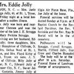 Jolly, Janie Scruggs, Jan. 15, 1960
