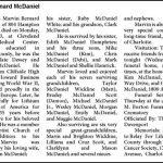 McDaniel, Marvin Bernard, May 6, 2013