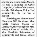 Moore, Robert William, July 15, 1979