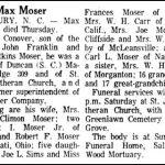 Moser, Max, Apr. 20, 1972