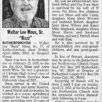 Moss, Walter Lee, Apr. 20, 2012