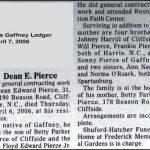 Pierce, Dean E, Apr. 6, 2006
