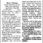 Thomas, Betty McCraw, Feb. 18, 2006