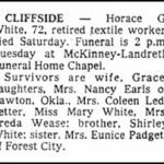 White, Horace Greeley, June 21, 1980