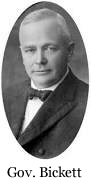 Gov. Thomas Walter Bickett