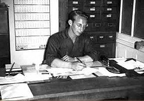 Olin Scruggs (at Mr. Beatty's desk!)