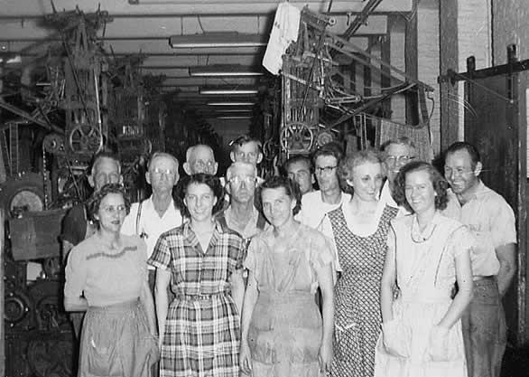 Weavers group