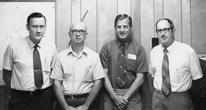 Joe Frye, Byron Bailey, Joe Miller, Bill Masters