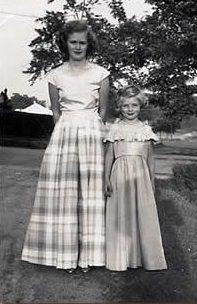 Barbara Moss, Daisy Bailey - c. 1950