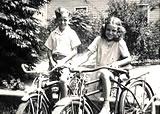 Kids on bikes.