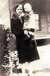 Minnie J. Wilson Scruggs & son Harry