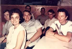 Margaret scruggs Hamrick, Baxter Jolley,  Kenneth Parker