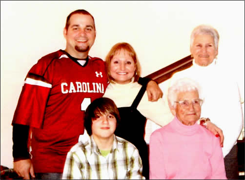 The five generations