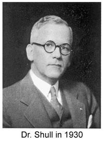 Dr Shull in 1930