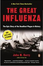 Book cover: The Great Influenza