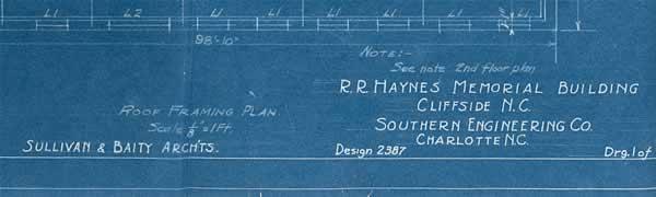 A blueprint fragment