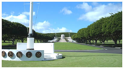 Punchbowl National Memorial Cemetery of the Pacific